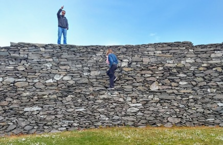Cahergall Stone Fort - Ring of Kerry