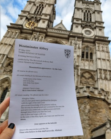 Service at Westminster